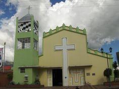 Catholic Church in Cotacachi Ecuador.