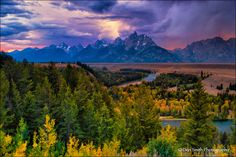 Stormy Evening, Snake River Overlook by Don Smith on 500px