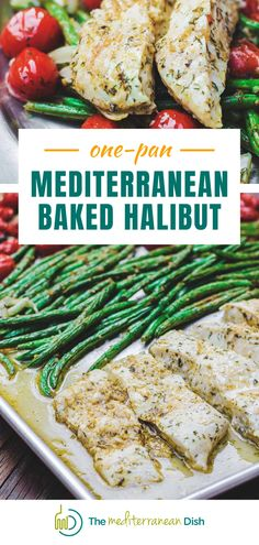 This baked halibut recipe is full of flavor and is easy to make for a family dinner that will please everyone! #halibut #bakedhalibut #weeknightmeals Halibut Recipes, Spinach Recipes, Vegetable Recipes, Seafood Recipes, Chicken Recipes, Quick Dinner Recipes, Vegetarian Recipes Easy, Cooking Recipes, Delicious Recipes