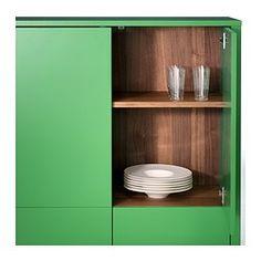 STOCKHOLM Szekrény+2 fiók - zöld - IKEA