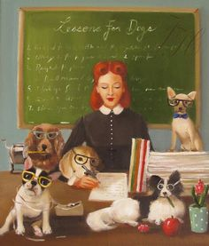 Miss Moon Was A Dog Governess. Lesson 7: Whenever You Can, Try To Lend A Helping Hand. - Janet Hill
