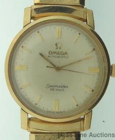 Omega Seamaster DeVille Vintage Mens Working Wrist Watch #Omega