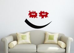 Wall Vinyl Decal Sticker Art Design Joker Smile Room Nice Picture Decor Hall Wall Chu1220 Thumbs up decals http://www.amazon.com/dp/B00K97AVC6/ref=cm_sw_r_pi_dp_3b91tb0XC7V0DM08