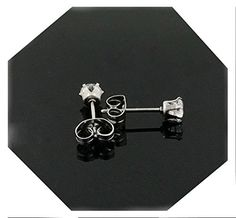 18k White gold filled earring with lab simulated diamonds suitable for men/women. (3.0) Heart Shaped Diamond Ring, Heart Shaped Engagement Rings, Diamond Rings, Diamond Engagement Rings, Baby Earrings, Kids Earrings, Gold Earrings, I Love Heart, Lab Created Diamonds