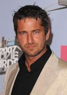 Gerard Butler (Scottish hunks are extra hunky.)