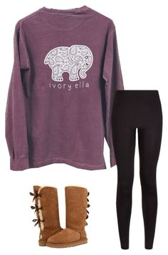 """""""Basic"""" by mcnsh21 ❤ liked on Polyvore featuring UGG"""