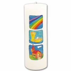 #Kommunionkerze - Wundervolle #Kerze zur #Erstkommunion #Zeichen der #Liebe