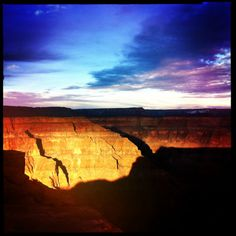 """Grand Canyon"" Hipstamatic by Mario Estrada #iPhoneography"