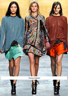 proenza schouler  ONLY the one in the middle!  not feelin' the other two!