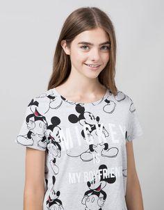 Imprimé - T-shirts - BERSHKA - Woman - Bershka France