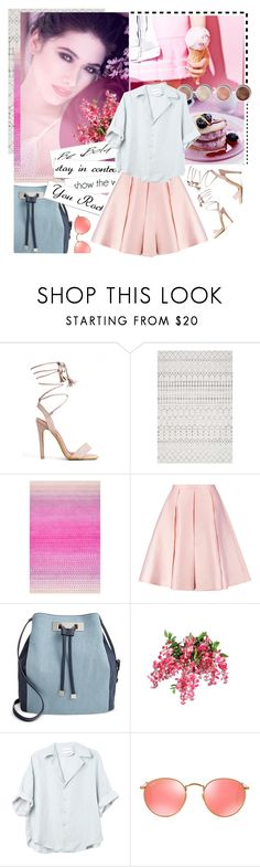 """""""#12"""" by stalya ❤ liked on Polyvore featuring nuLOOM, Emilia Wickstead, INC International Concepts, Terre Mère and Ray-Ban"""