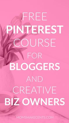 Stumped on how to drive traffic to your blog? I'll let you in on a little secret…it's Pinterest. I get over 80% of my blog traffic via Pinterest! In this FREE five day course I'm sharing the strategies you need to have a successful profile that will incre