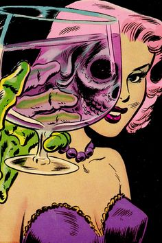 "PopArtGirls     Vintage ""Chamber of Chills #19 (1953) """