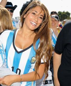 Guess what? Football (soccer) legend, Lionel Messi, really married his childhood sweetheart, Antonella Roccuzzo. One look at her and you'll understand why. She's just so beautiful.  This absurdly stunning brunette is probably Lionel's greatest victory.  They literally grew up together and have loved each other since the age of five. Now that's a love story.