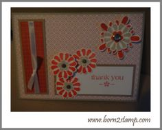 Stampin Up! With all my heart