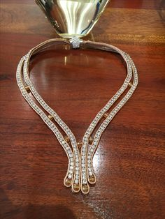 Soutache necklace by Ravilya