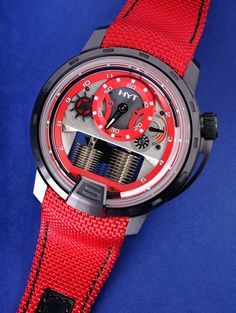 HYT H1 Colorblock Limited Edition Watches In Red, Yellow, Or Blue Hands-On Hands-On