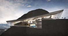 En images : un étonnant musée niché dans les montagnes | Planet