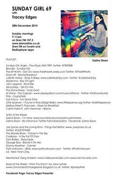 Playlist 69 28th Dec 2014 9-11am(UK time)  #SundayGirl #SirenFM107.3 http://www.sirenonline.co.uk/section/shows/sunday-girl… @YatchenkoSasha  @INDIESCENERAD @janelythell #STOOSHPR