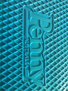 Blue penny board logo