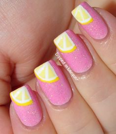 lemon nails..but maybe on just one nail!