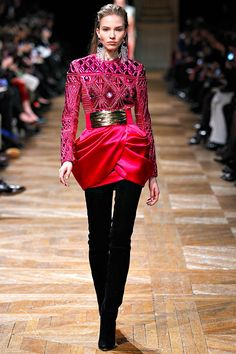 Balmain - Pret A Porter Paris FALL 2013