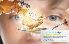 """""""Sometimes the best medicine of all is called hope.""""  New Make-A-Wish America print campaign created by gyro"""
