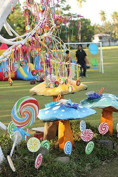 Scott's Willy Wonka Themed Party – Sweet treats