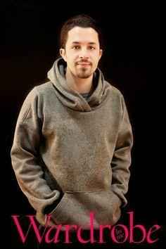 Mens hooded sweatshirt PDF sewing pattern /Mens von Wardrobebyme