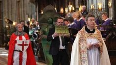 Asparagus blessing at Worcester Cathedral causes row