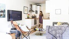 瑞典 13 坪大客廳公寓