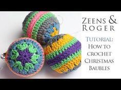 Ophelia Talks about Crochet Christmas Baubles Crochet Christmas Ornaments, Christmas Knitting, Christmas Baubles, Christmas Crafts, Christmas Stocking, Christmas Stuff, Christmas Decorations, Ornament Tutorial, Love Crochet