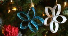 We gaan schitterende kerststerren maken van wc-rollen. Want je #kerstboom versieren met knutselwerkjes die gemaakt zijn door kinderen is zo ontzettend mooi. #kerstversieren