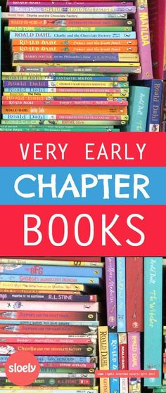 Early chapter books - early chapters books for kids to listen to and read to themselves are the hardest children's books to find. This is a massive list of great recommendations.