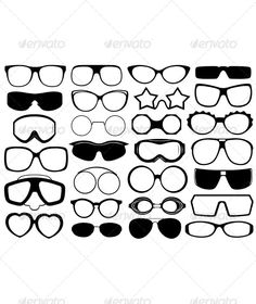 Different Eyeglasses