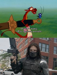 Oh, Bucky.
