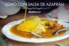 Lomo con Salsa de Azafrán