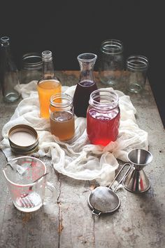 Cold-Process Infused Simple Syrups