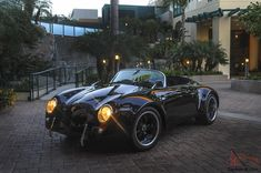 """BACK ON AUCTION!!!1957 Porsche SpeedsterSuper Wide Body Replica""""Black Betty""""1957 356 Speedster """"Super Wide Body"""" replica built in 2008 by Vintage Speedsters. EyeCandy at it's best! True one-of-a-kind appeal!If you want extreme attention and don't want that 100k plus price tag. this is the car for you!This Super Wide Body Speedster is affectionately know as """""""