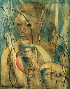 Francis Picabia (French, 1879 - 1953) Manga, 1930-32Oil on canvas, 91,8 x 72,8 cm