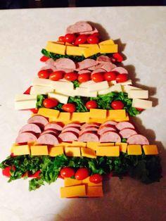 Olá, quero compartilhar com você 27criativas decoração de Pratos, bandejas de alimentos para Natal para