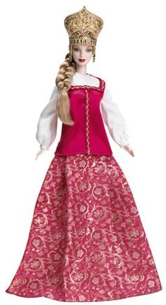 2005 Princess of Imperial Russia Barbie® | Barbie Dolls of the World - The Princess Collection *DOLLS OF THE WORLD