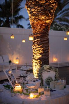This might be a really sweet idea: Wish Table at Engagement Party