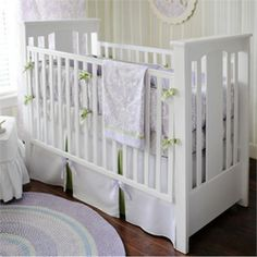 Rosenberry Rooms has everything imaginable for your child's room! Share the news and get $20 Off  your purchase! (*Minimum purchase required.) Sweet Violet Crib Bedding Set #rosenberryrooms