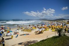 Praia Canasvieiras, Florianopolis (Brazil)