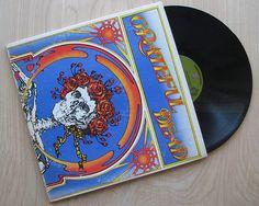 """Grateful Dead """"Grateful Dead"""" Vinyl Record Double LP Gatefold Cover Live Album 1971"""