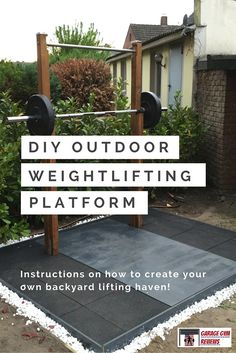 Looking to build an outdoor Weightlifting Platform and Squat Rack? Look no further. You can find detailed instructions here. Click for more!