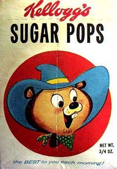Sugar Pops cereal c. 1961