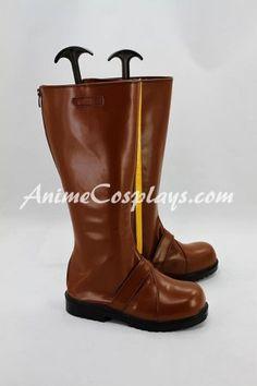 RWBY Yellow Trailer Yang Xiao Long Cosplay Shoes Boots