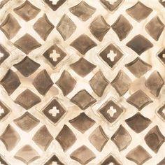 Framed Umber Tile III Print